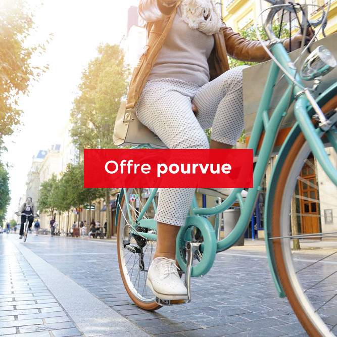 Chargé(e) de qualité filière vélo / CDD
