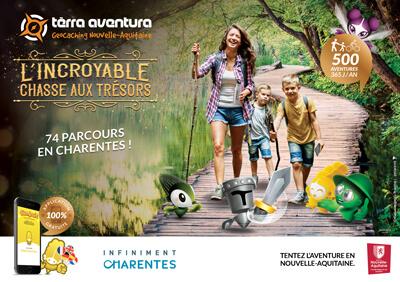 74 parcours Tèrra Aventura en Charentes